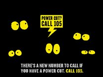 Power cut poster